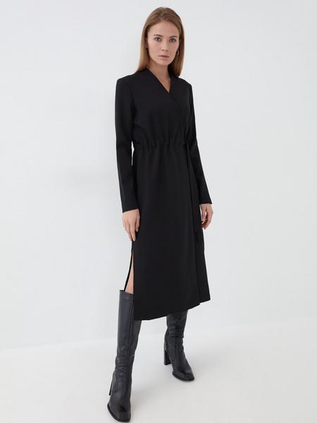 Платье с резинкой на талии - фото 1