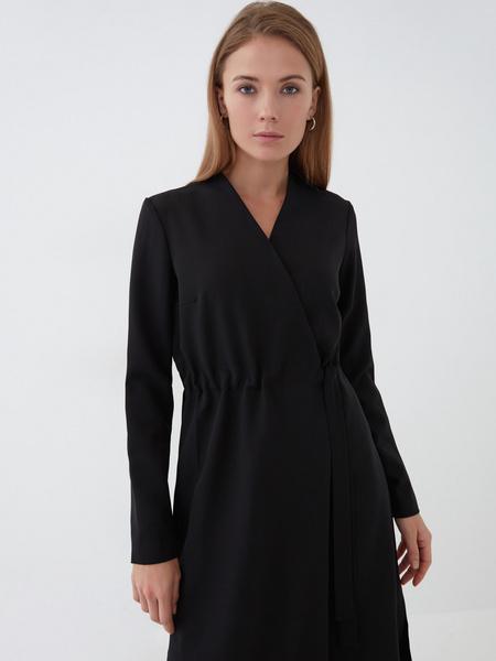 Платье с резинкой на талии - фото 2