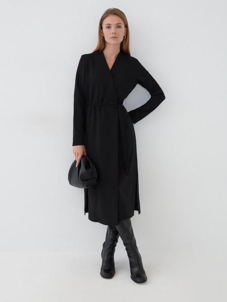 Платье с резинкой на талии - фото 6