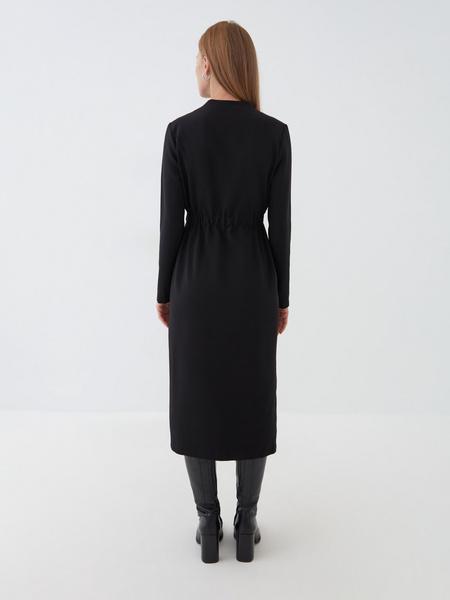 Платье с резинкой на талии - фото 7
