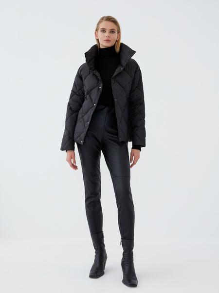 Стёганая куртка - фото 7