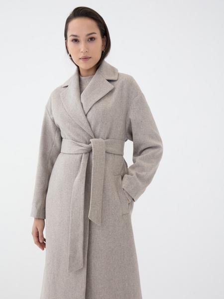 Пальто с шерстью - фото 1