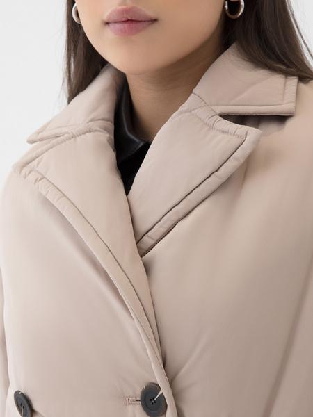Двубортное пальто - фото 3
