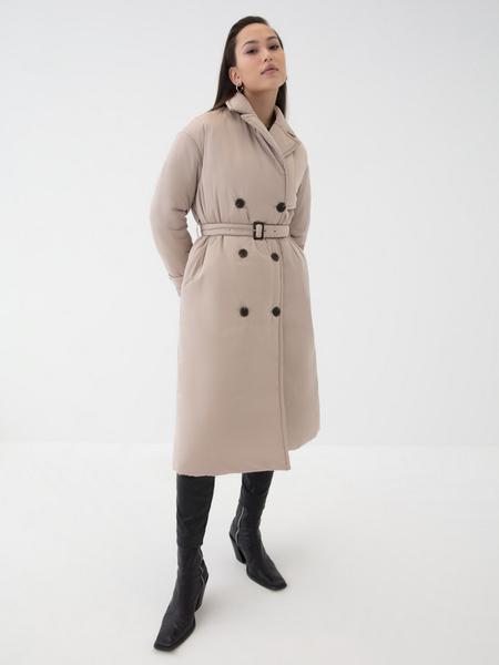 Двубортное пальто - фото 10