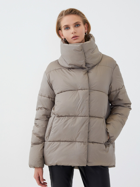 Куртка с воротником - фото 2