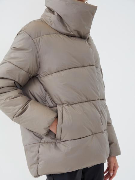 Куртка с высоким воротником - фото 3