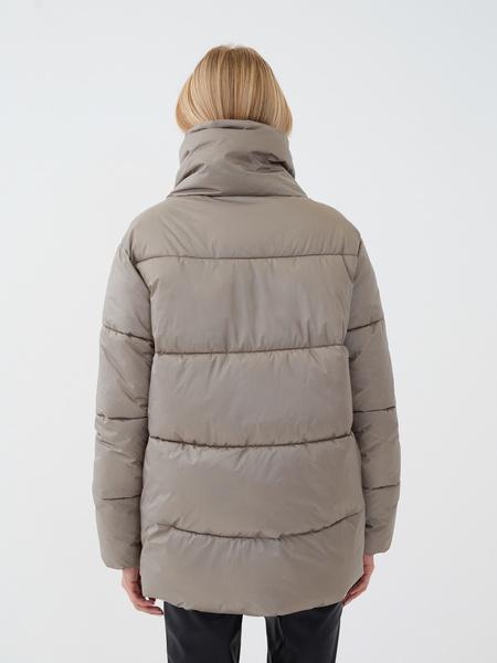 Куртка с высоким воротником - фото 5