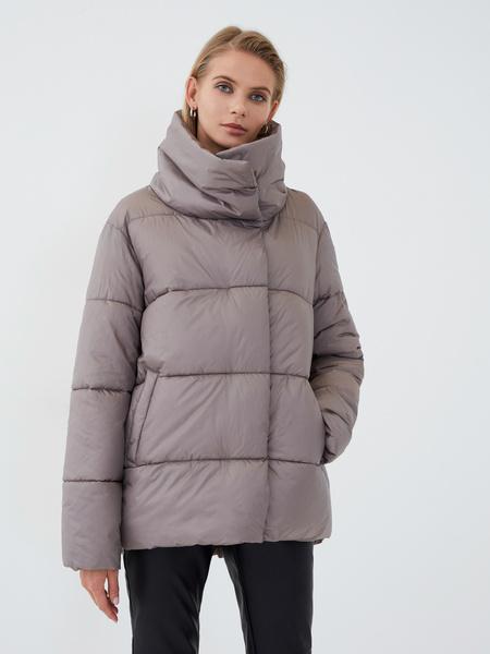 Куртка с высоким воротником - фото 1