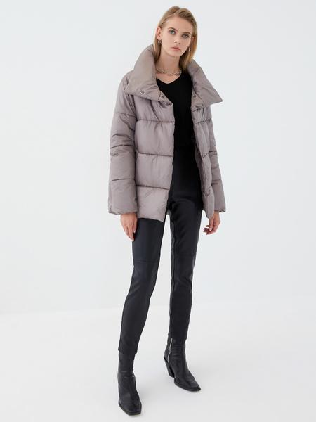 Куртка с высоким воротником - фото 2