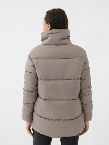 Куртка с высоким воротником - фото 4