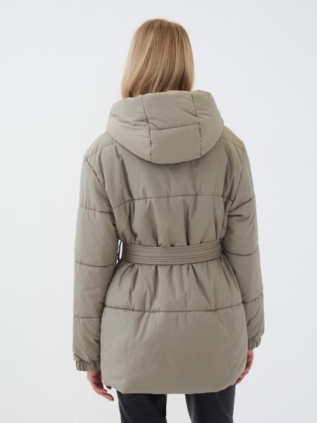 Куртка с поясом - фото 5