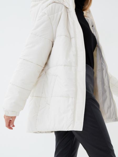 Куртка с поясом - фото 4