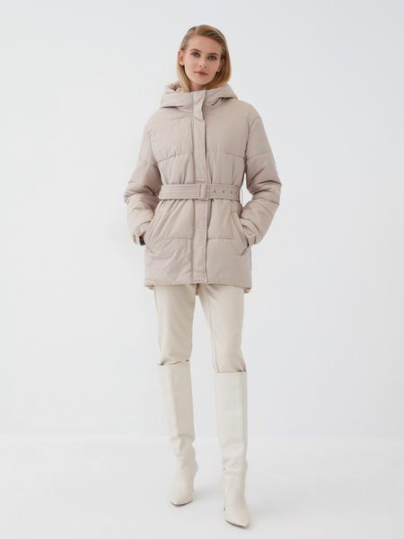 Куртка с поясом - фото 1