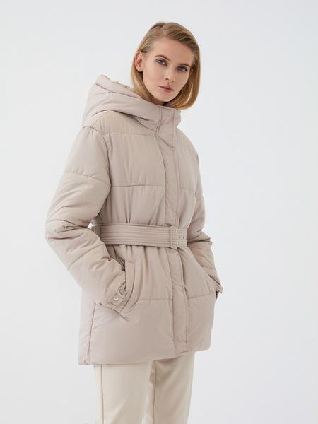 Куртка с поясом - фото 2