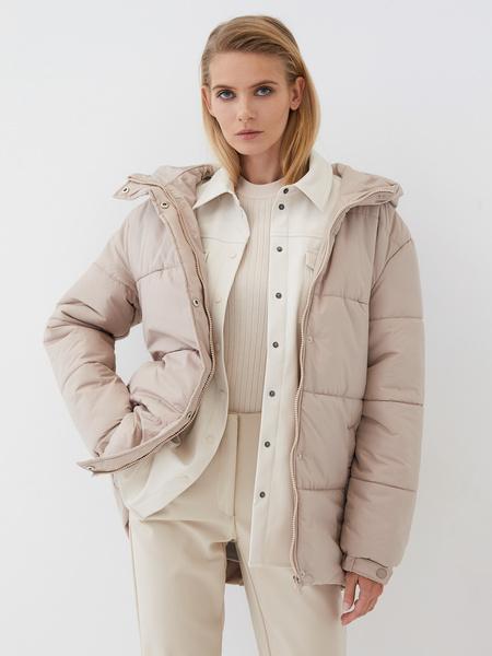 Куртка с поясом - фото 3