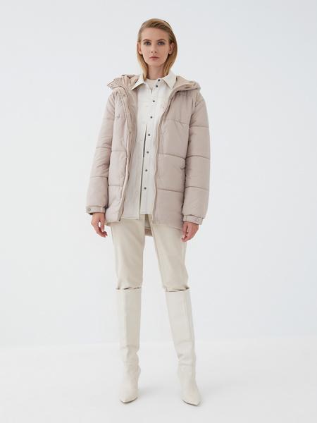 Куртка с поясом - фото 6