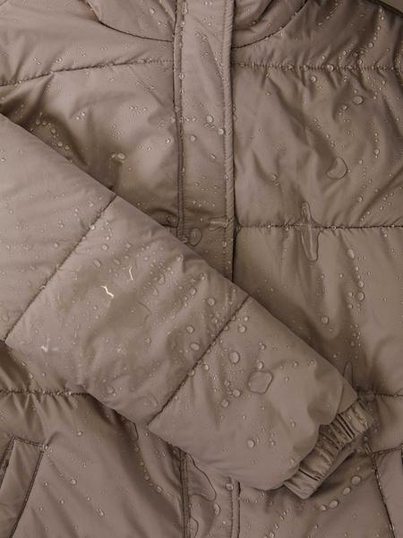 Куртка с поясом - фото 7