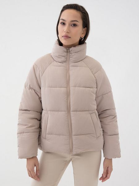Короткая куртка на молнии - фото 1