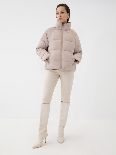 Короткая куртка на молнии - фото 2