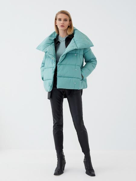 Куртка с объемным воротником - фото 6