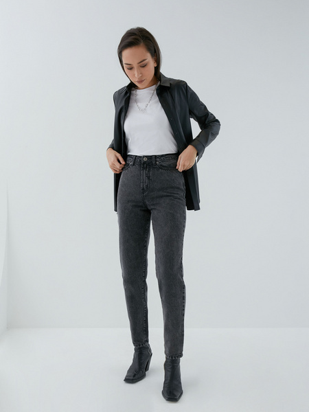 Джинсы Relaxed Fit - фото 5