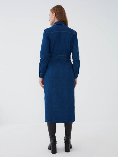 Джинсовое платье - фото 4