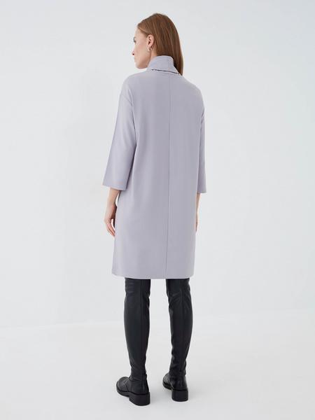 Прямое платье из вискозы - фото 5