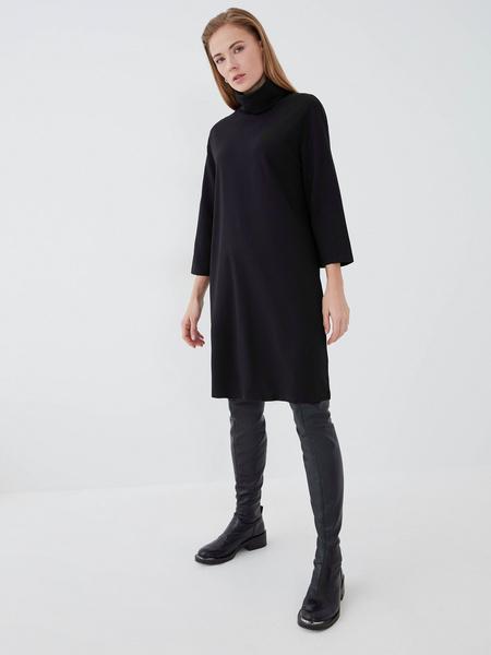 Прямое платье из вискозы - фото 3