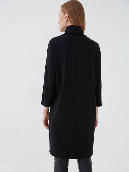 Прямое платье из вискозы - фото 6