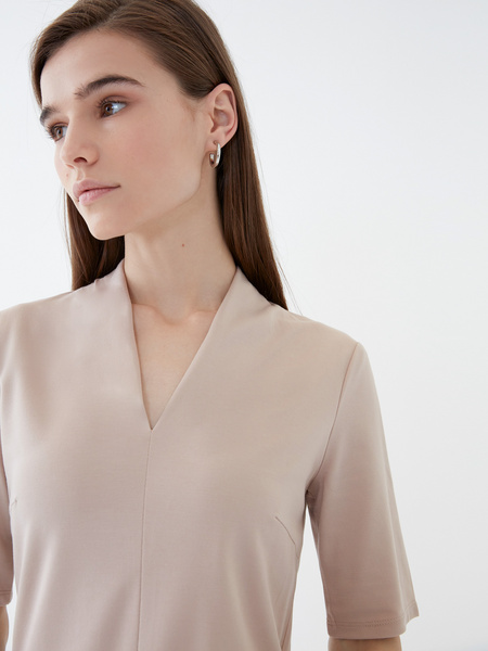 Блузка с рукавом 3/4 - фото 3