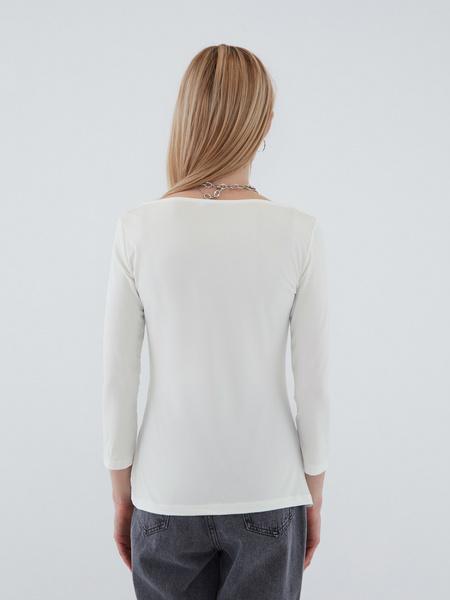 Блузка с вырезом - фото 10