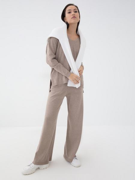 Прямые брюки из вискозы