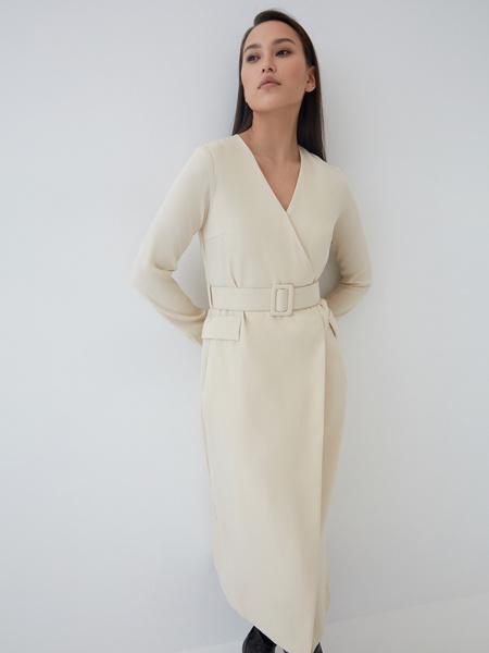 Платье-макси на запах - фото 1