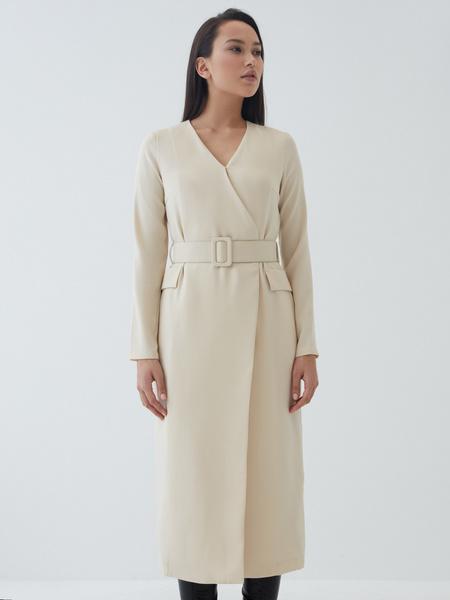 Платье-макси на запах - фото 3