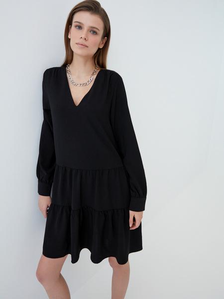 Платье-трапеция - фото 1