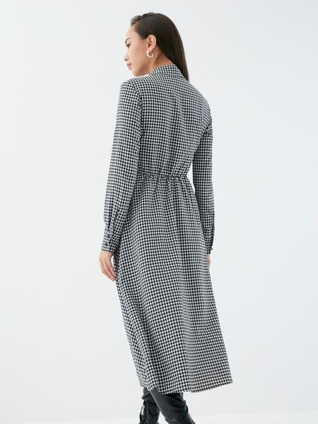 Платье с поясом-узлом - фото 7