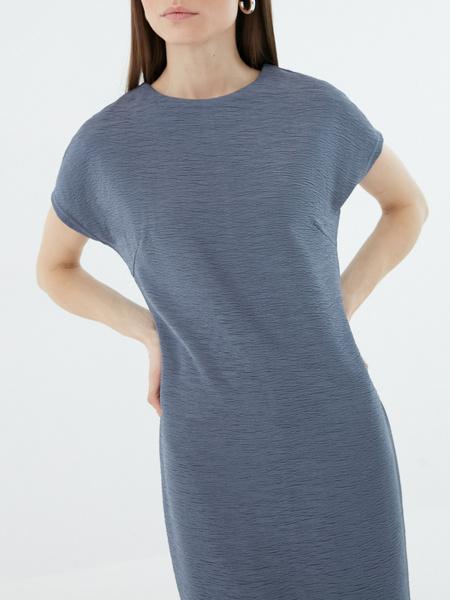 Платье с коротким рукавом - фото 3