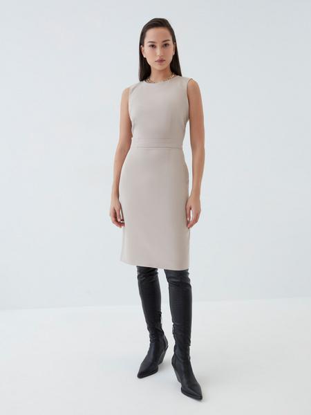 Платье с вырезом-лодочкой - фото 2
