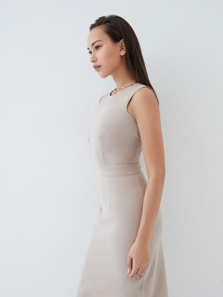 Платье с вырезом-лодочкой - фото 5