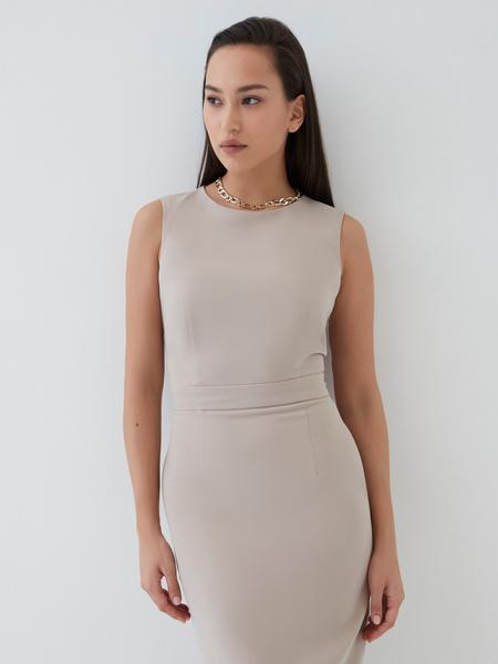Платье с вырезом-лодочкой - фото 6