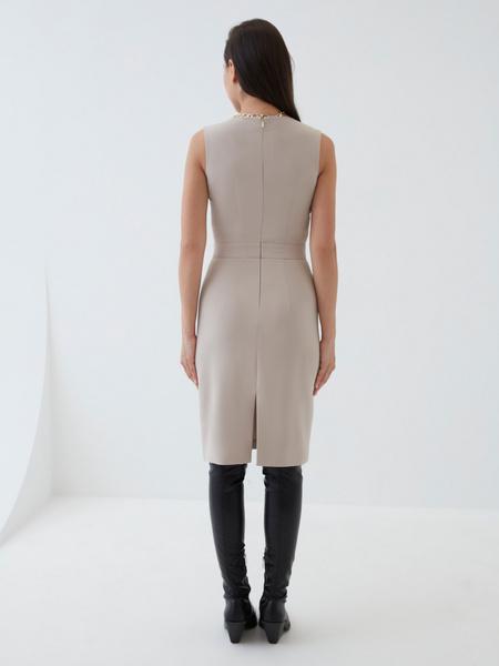 Платье с вырезом-лодочкой - фото 8