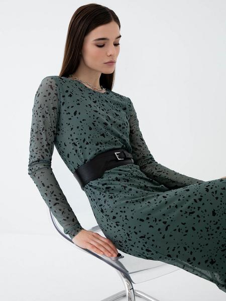 Платье-миди - фото 4