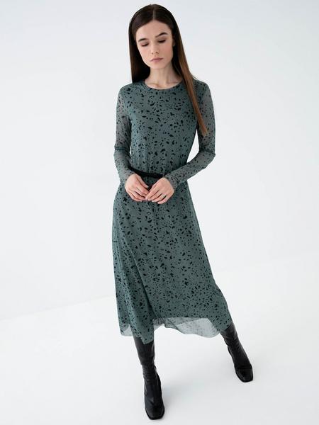 Платье-миди - фото 6
