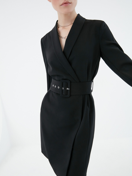 Платье-жакет - фото 4