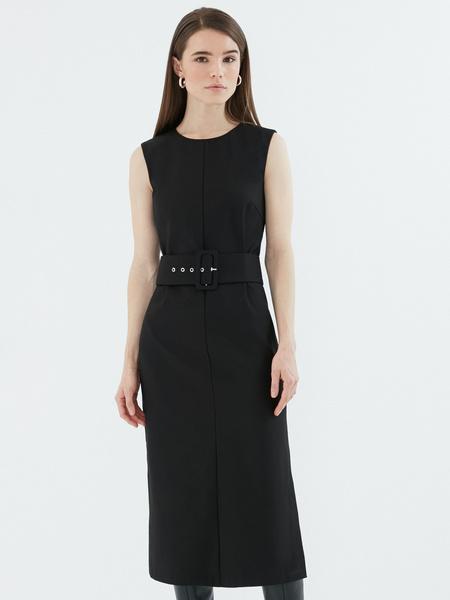 Платье с широким поясом - фото 2