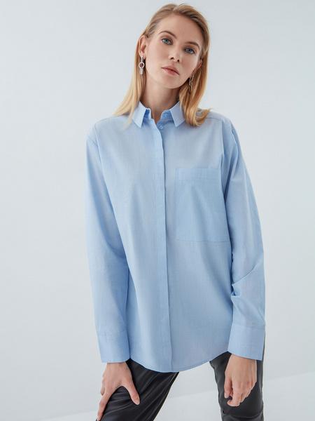 Рубашка из хлопка - фото 1