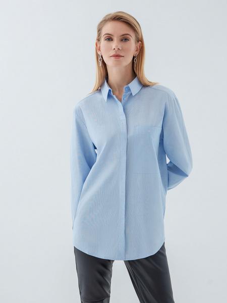 Рубашка из хлопка - фото 7