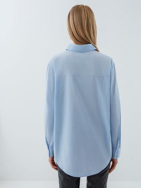Рубашка из хлопка - фото 8