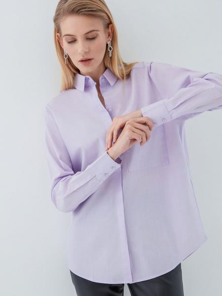 Рубашка из хлопка - фото 5