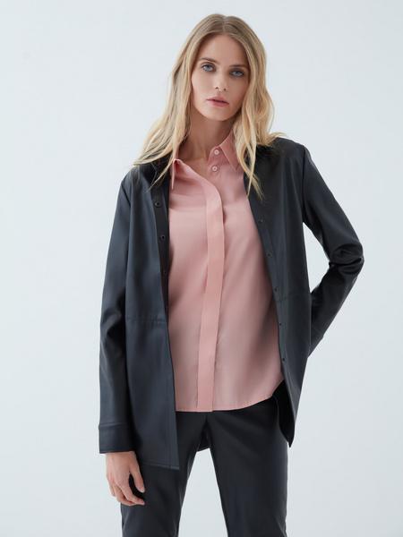 Блузка с объемными рукавами - фото 3